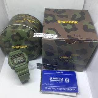 G Shock X SBTG DW-5600 (Limited Edition, Camo, Sabotage)