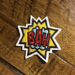 Sew On Patch bah