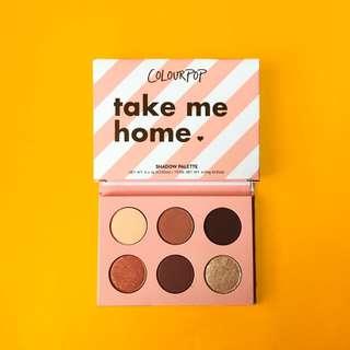 ✨READYSTOCK✨ Colourpop Take Me Home Eyeshadow Palette