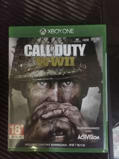 COD WWII XBOX ONE GAME