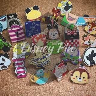 10個隨機迪士尼徵章 Disney Pin Lot