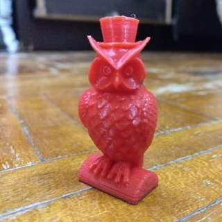3D Printed Couple Owl Model