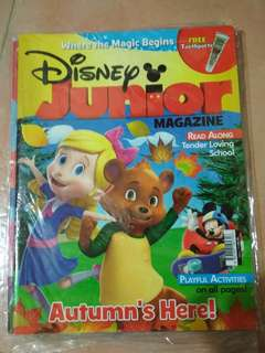 Brand new in wrapper Disney junior issue. 118, 120, 121, 122,123 (NO FREE GIFT) $2.50 each (retail at 6.90)