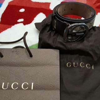 Gucci Belt Authentic JUAL MURAH