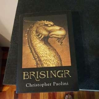 Brisngr hard bound. Book 3 of the Eragon series