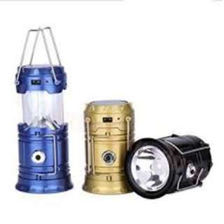 MULTIFUNCTIONAL SOLAR CAMPING LAMP
