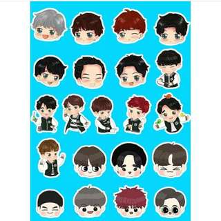 Preorder - GOT7 STICKER exc.pos