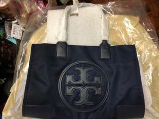 Tory Burch Ella mini tote navy 全新正貨