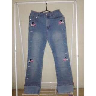 Celana Jeans Mickey