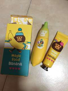 Tony Moly banana hand cream