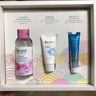 Biore cleansing set