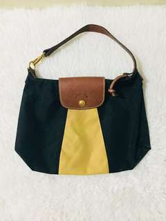 Authentic Longchamp Sac Pochette Bicolore