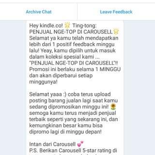 Penjual Nge-TOP Carousell