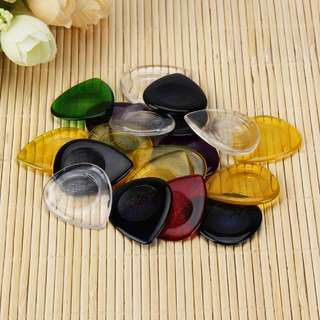 3mm Colorful Droplet Resin Guitar Pick