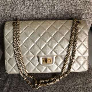 Chanel Reissue Gold Distressed Leather series 15