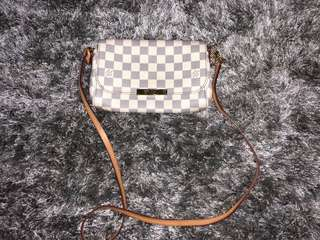 Louis Vuitton LV MM Favorite Azur 2014