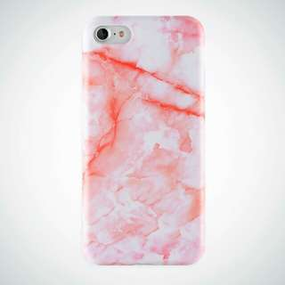 Glossy Marble Case 6/6s (PINK/WHITE/BLACK)