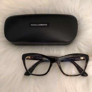 Dolce Gabbana frames/prescription lens