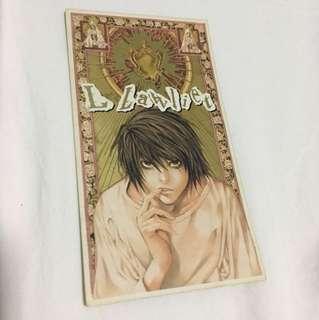 """Death Note L """"TRUE NAME"""" Card"""