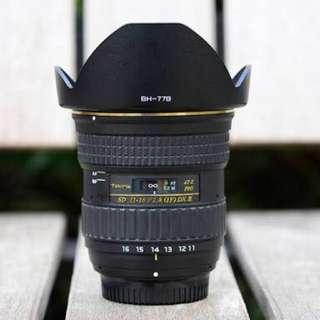 Tokina 11-16 F 2.8 DX II (Nikon Mount) & Nikkor 50mm 1.8G