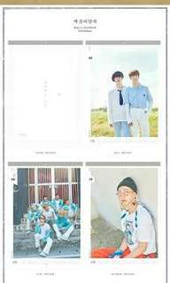 BTS Official 2018 Wall Calendar (Limited Edition)