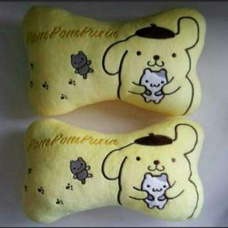 Pompompurin Car Neck Headrest Pillow Cushion