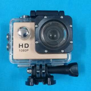 Waterproof cam HD1080P