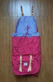 Authentic Herschel Little America Windsor Wine/Tan Backpack