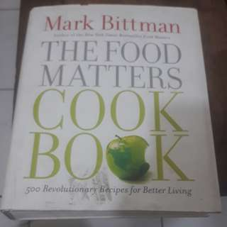 The Food Matters Cook Book