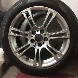 BMW 528i M Genuine Original Rim + Tyre