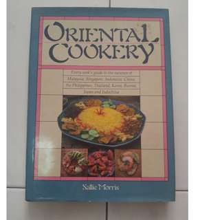 Oriental Cookery by Sallie Morris