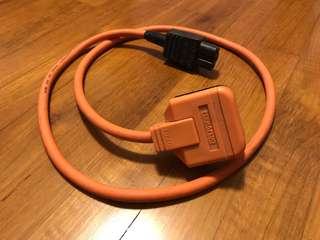 Ecosse big orange power cable (Uk plug)