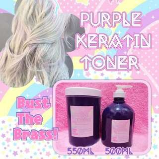PURPLE KERATIN TONER 500 ml