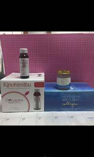 Kinohimitsu and bird nest collagen set