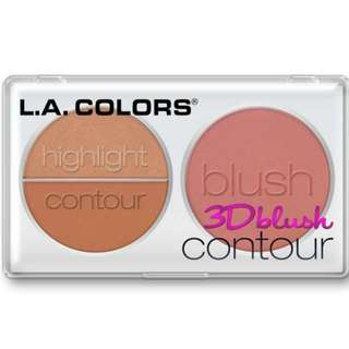 LA colors 3D blush contour