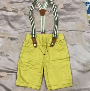 Celana Yellow short