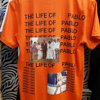 LIFE OF PABLO TSHIRT MERCH