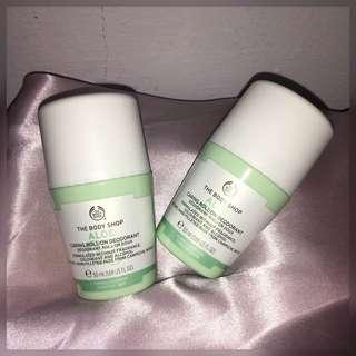 The Body Shop Aloe Caring Deodorant