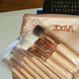 Zoeva Luxury Set Volume 2 brushes