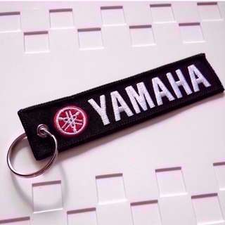 Yamaha Keychain Double Side Embroidered New