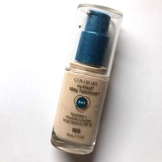 Covergirl Outlast 3 in 1 Foundation in IVORY