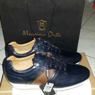 Sepatu pria Merek Massimo Dutti Original