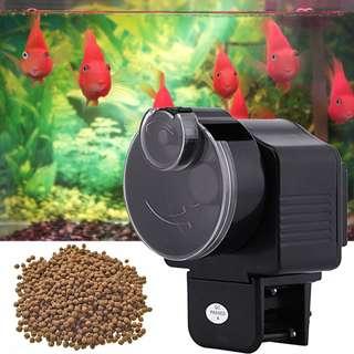 [PO] Digital Automatic Fish Feeder Aquarium Tank Electronic Fish Food Feeder Timer