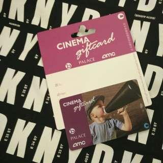 Cinema giftcard $300 (百老匯 Broadway, PALACE & AMC cinemas)