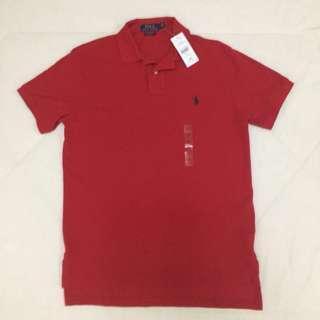 Ralph Lauren Polo Shirt (RED)