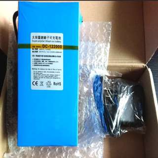 Like For Likes Escooter 12V 20000mah 9800mah Lithium Battery