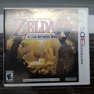 3DS The Legend of Zelda A Link Between Worlds