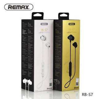 Remax Bluetooth Earpiece RB-S7 (Silver) Only