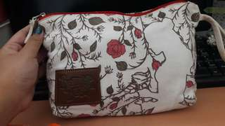 Pouch Beauty and The Beast Disney FREE ONGKIR JABODETABEK
