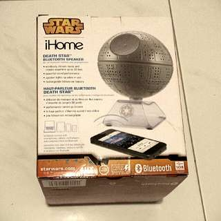 BRAND NEW LIMITED EDITION - Star Wars Death Star Bluetooth speaker for iPhone